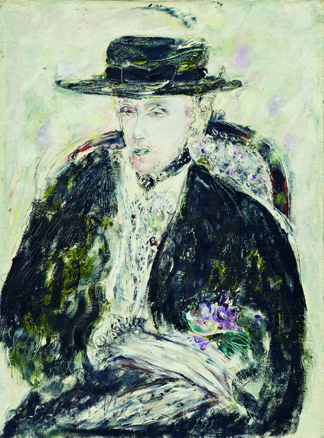 SRĐAN VUKČEVIĆ, 'Winter Portrait with a Summer Hat', 1989, Museum of Modern Art Dubrovnik