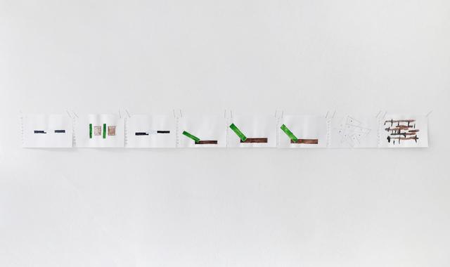 Richard Tuttle, 'Collage Event', 2019, Galerie Christian Lethert