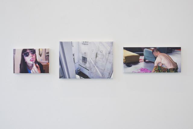 , 'Paintings n°12, 13 and 14,' 2015-2016, Albert Baronian