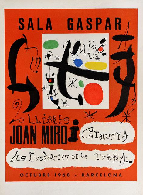 Joan Miró, 'Sala Gaspar 1968', 1968, Goldmark Gallery