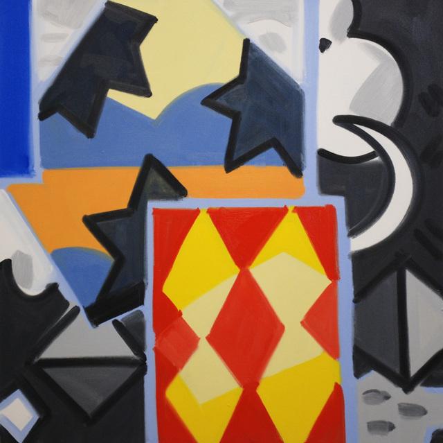 , 'Madrid Night Square #4,' 2004-2014, David Richard Gallery