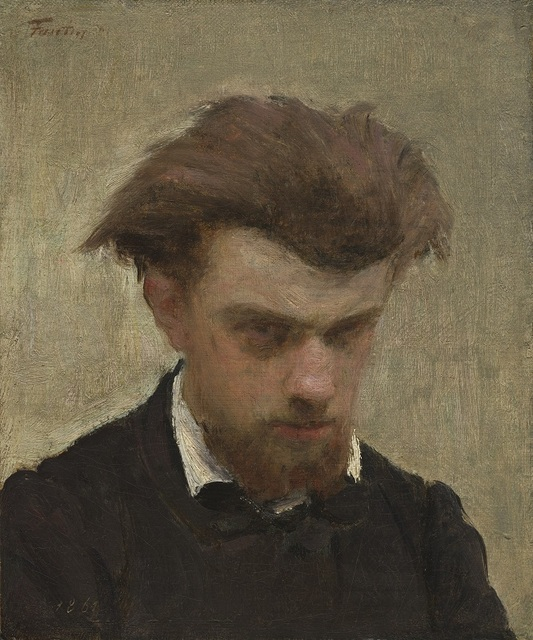 , 'Self-Portrait,' 1861, Seattle Art Museum