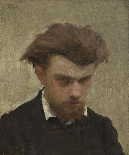 , 'Self-Portrait,' 1861, Seattle Art Museum