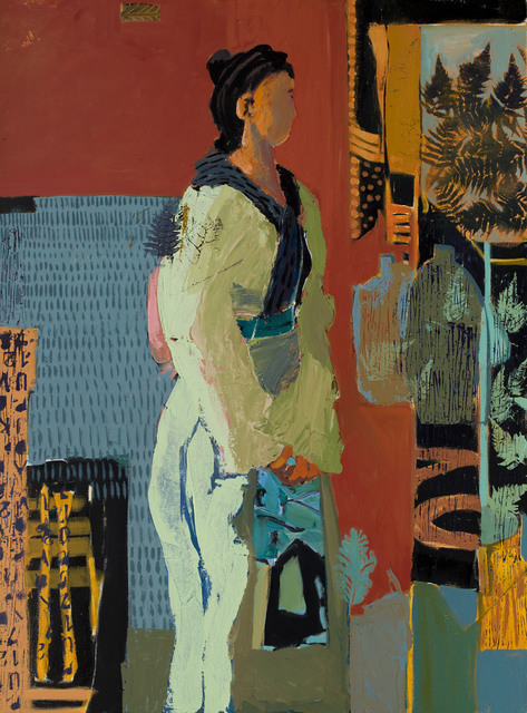 , 'Inclinaion,' 2106, Sue Greenwood Fine Art
