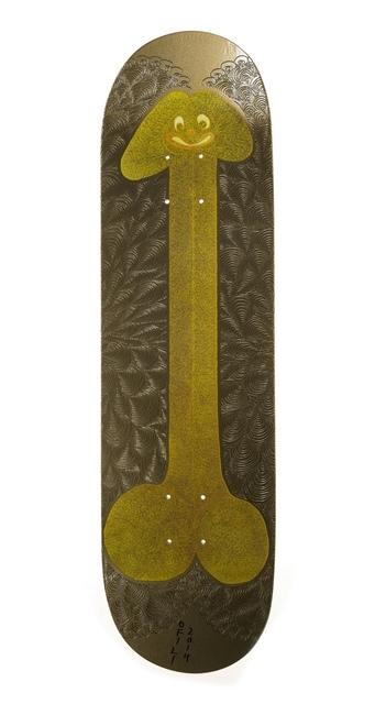 Chris Ofili, 'Skateboard', 2014, Forum Auctions
