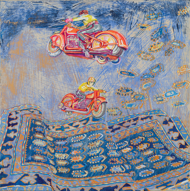 , 'Flying Motorcycles I,' 2013, RYAN LEE
