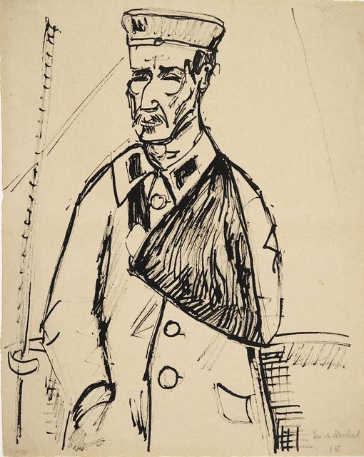 , 'Verwundeter,' 1915, Henze & Ketterer