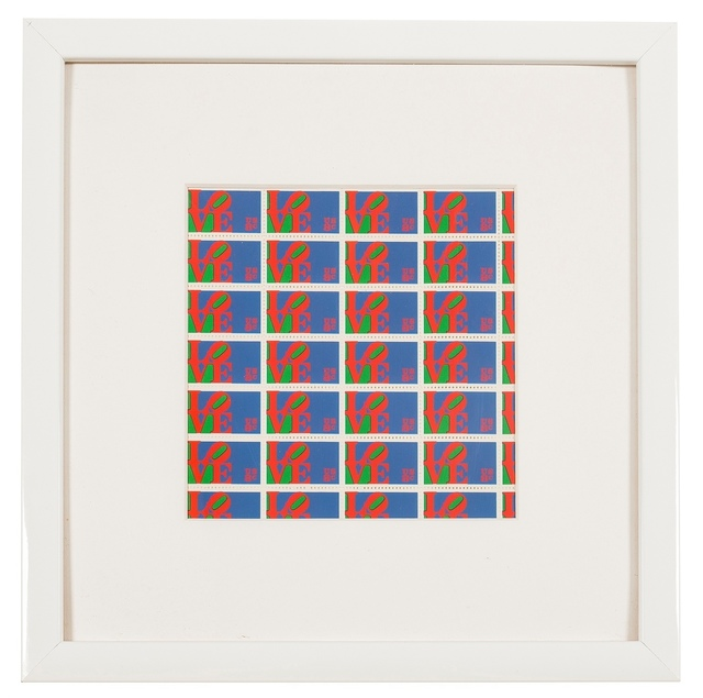 Robert Indiana, 'Love Stamps', 1973, Forum Auctions