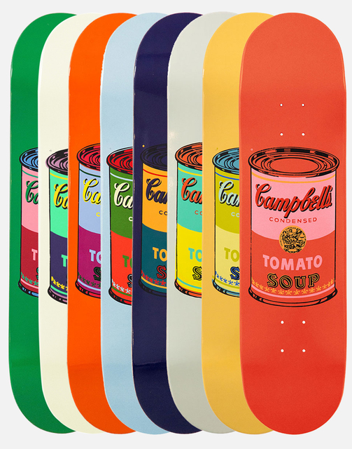 Andy Warhol, 'Set of 8 Colored Campbell's Soup Cans', 2016, Artsnap