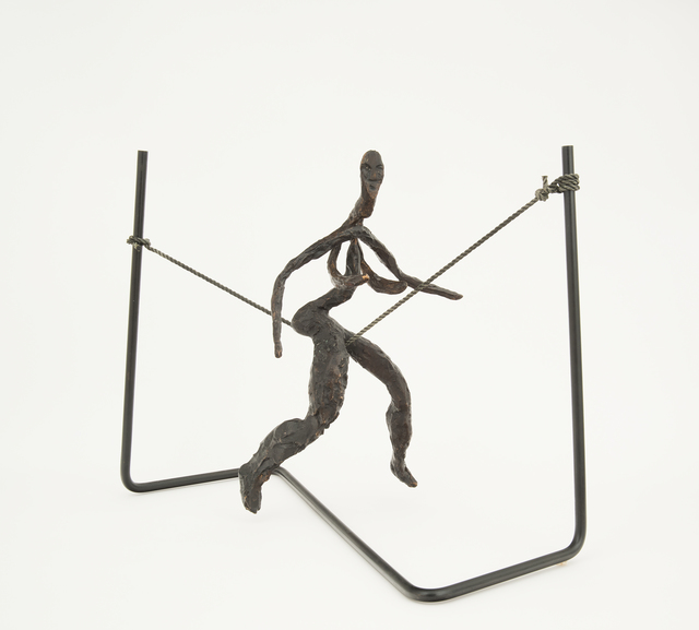 , 'Tightrope Worker (Woman on Cord),' 1944 / Lifetime Cast 1969, Hollis Taggart Galleries