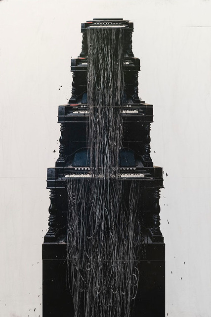 , 'Tower 2,' 2017, Bau-Xi Gallery