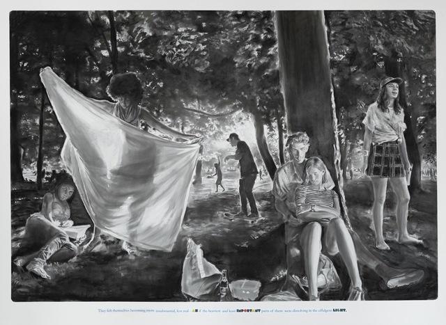, '( They felt themselves..),' 2016, Galeria Mário Sequeira