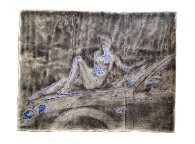 , 'Showgirl in a bad painting,' 2008, GALERIE OVO