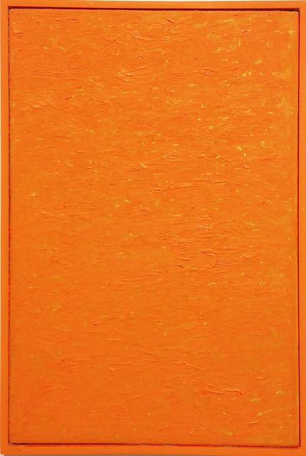 , 'Byte size paintings: neon orange,' 2015, Hello Project Gallery