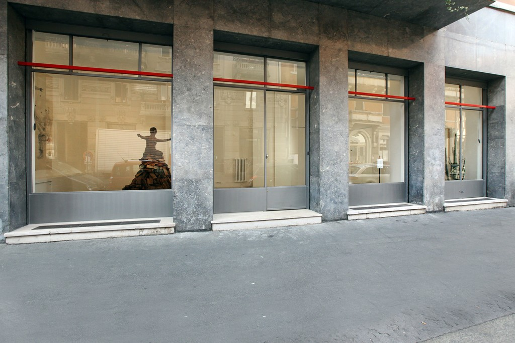Installation view, Kiki Smith's exhibition, 2012 via A. Stradella 1, Milano