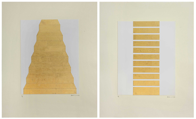, 'Untitled (Diptych),' 2013, Gallery Espace
