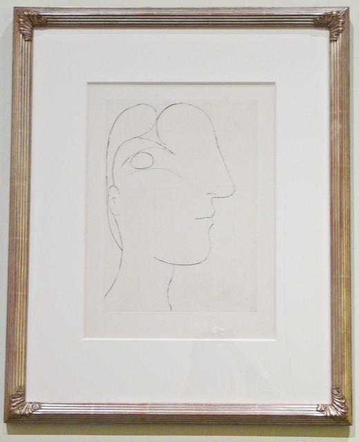 , 'Profil sculptural de Marie-Thérèse ,' 1933, John Szoke