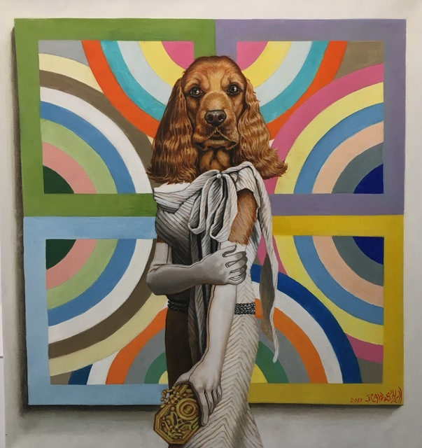 , 'Jill C. - Frank Stella Painting,' , Isabella Garrucho Fine Art