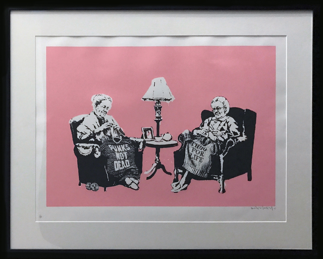 , 'Grannies signed,' 2006, Galerie Kronsbein