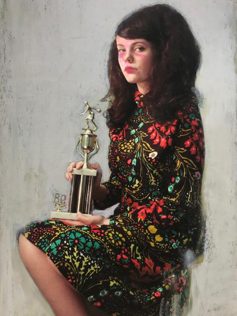Mercedes Helnwein, 'Trophy Girl', 2019, KP Projects