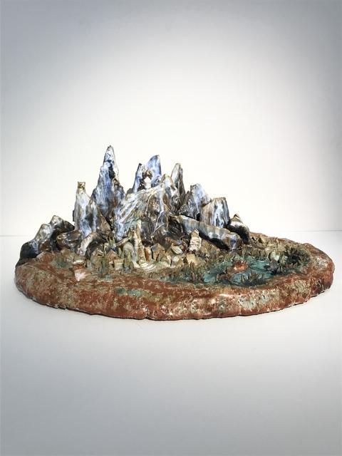 ", '""Village and Mountain"",' 1937, Galerie Didier Luttenbacher"