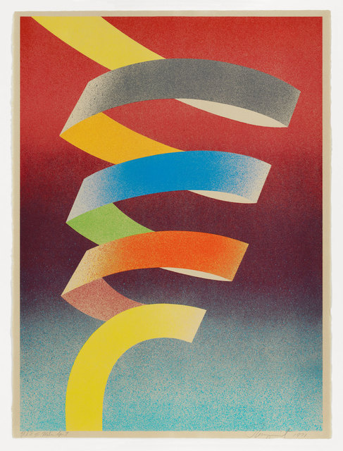 , 'Water Spout,' 1971, Graphicstudio USF