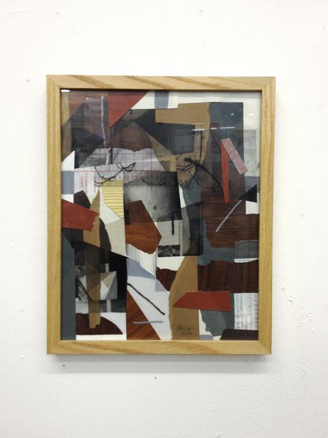 , 'Mittlere Collage,' 2013, Gestalten