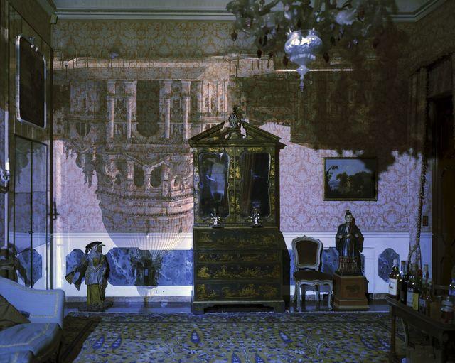 , 'Camera Obscura: Santa Maria della Salute inside Palazzo Livingroom, Venice, Italy,' 2006, Childs Gallery