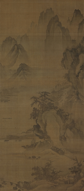 , 'Cold Breeze in a Mountain Town,' Joseon Dynasty-First half of 16th century, Leeum, Samsung Museum of Art