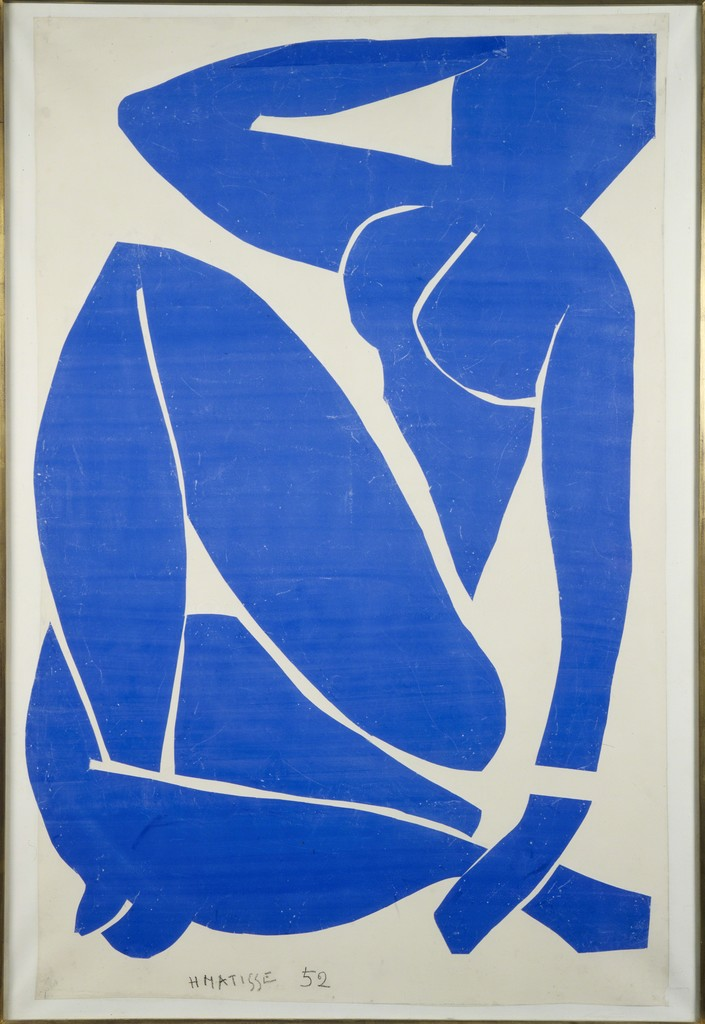 Henri Matisse, 'Blue Nude III,' 1952, ARS/Art Resource
