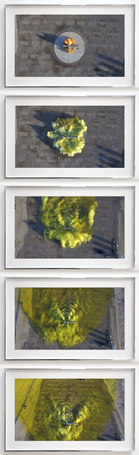 , 'Jack Rabbit II Test, Drone Footage Extract, Aerial View Plume Behavior,' Drone video footage, 2016, sourced 2017, Haines Gallery