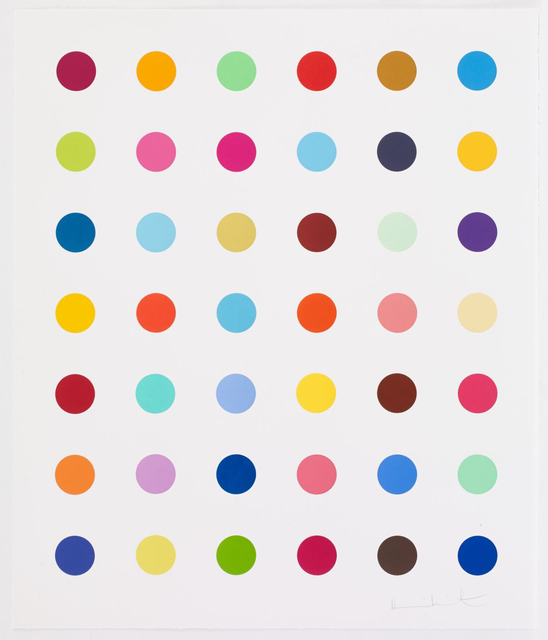 Damien Hirst, 'Isocytosine', 2017, Vogtle Contemporary