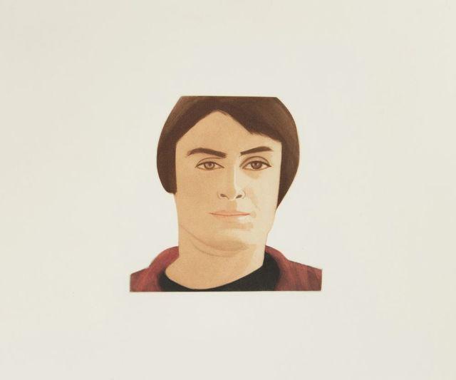 Alex Katz, 'Face of the Poet', 1978, Roseberys