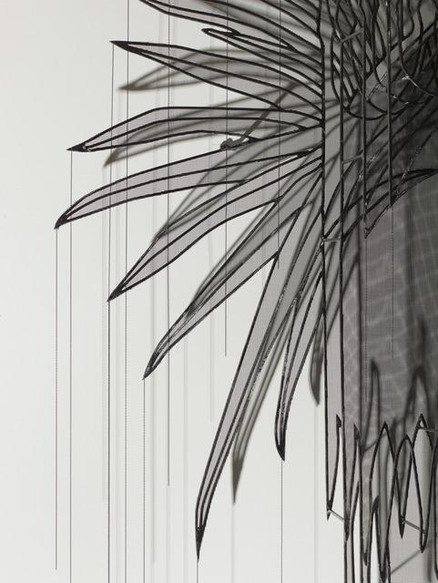 , 'Emperor's Headdress (detail),' 2017, Leila Heller Gallery