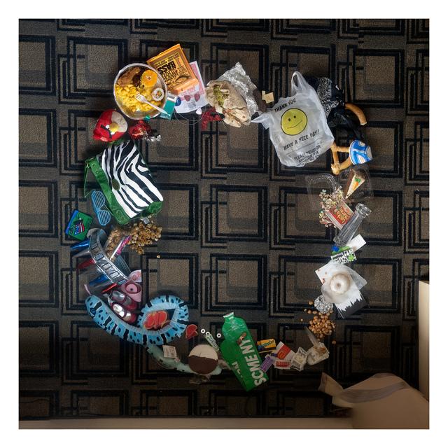 , 'Hong Kong – Sheung Wang(Wellington St, Graham St, Hollywood Rd, Aberdeen St), Nov 2011 (ver 2),' 2012, Pari Nadimi Gallery