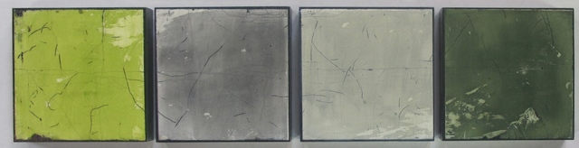 , 'UNTITLED FRESCO (SET OF 4),' 2014, Traver Gallery