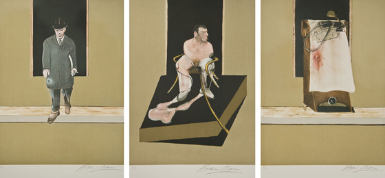 Francis Bacon, 'Triptych,' 1987, Zane Bennett Contemporary Art
