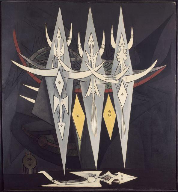 , 'Umbral,' 1950, Centre Pompidou
