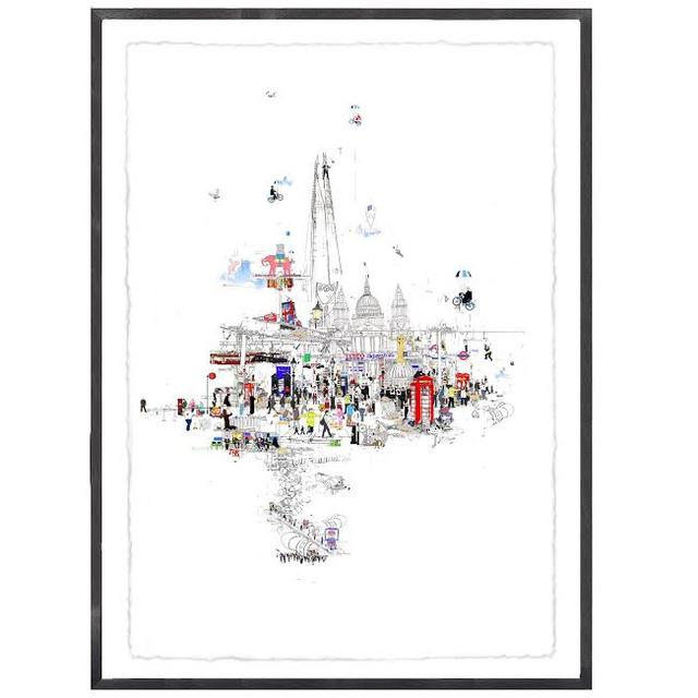 , 'Crazy Town,' 2014, Wychwood Art