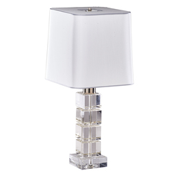 Contemporary Crystal Table Lamp
