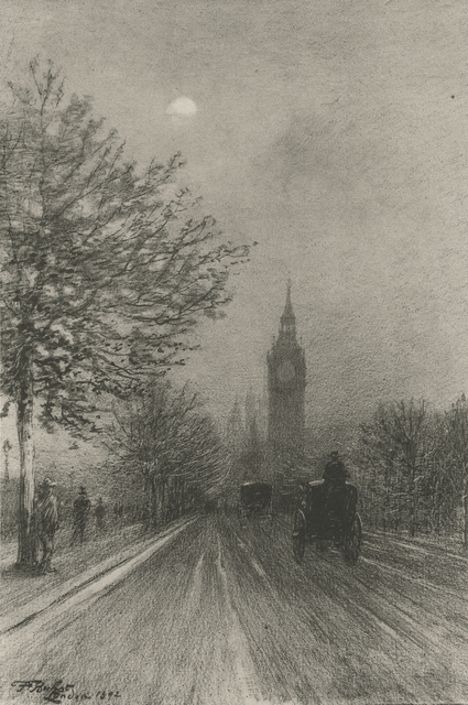 , 'The Embankment Westminster,' 1892, Childs Gallery