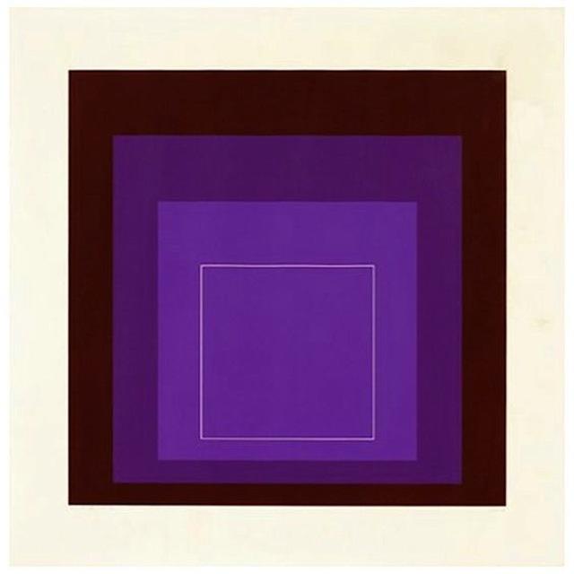 Josef Albers, 'White Line Squares (Series II), XI', 1966, Print, Lithograph, Gregg Shienbaum Fine Art