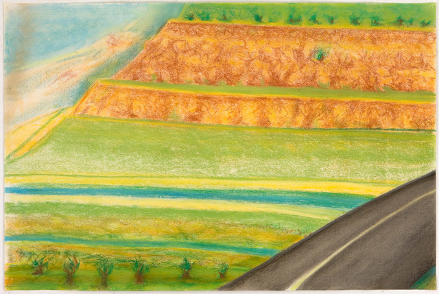 , 'Diagonal Road with Mesa,' 2009, David Nolan Gallery