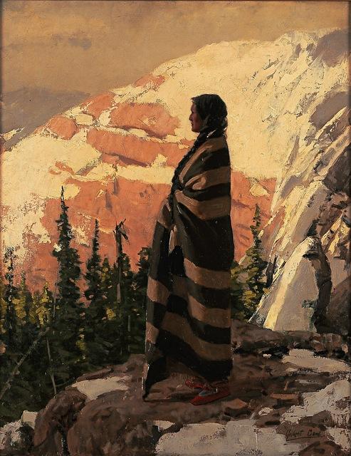 , 'The Land of the Free,' circa 1900, Blanton Museum of Art