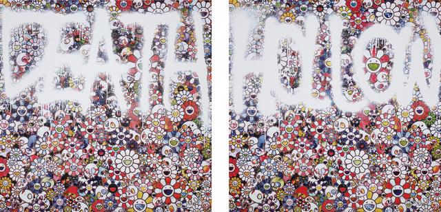 Takashi Murakami, 'DEATH Flower; and Flower HOLLOW', 2015, Phillips