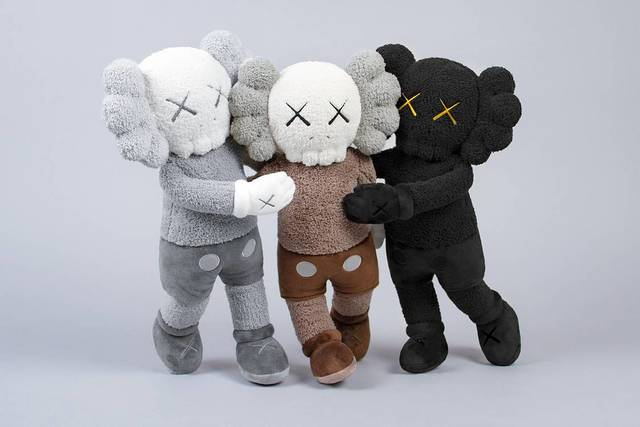 KAWS, 'HOLIDAY HONG KONG COMPANION PLUSH SET OF 3', 2019, Marcel Katz Art