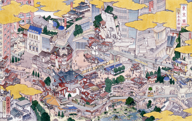 , 'Tokei (Tokyo): Roppongi Hills,' 2005, Zane Bennett Contemporary Art