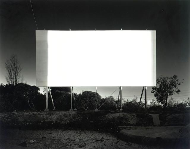 , 'Stadium Drive-in Orange,' 1993, Ben Brown Fine Arts
