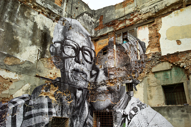 , 'The Wrinkles of the City, La Havana, Rafael Lorenzo y Obdulio Manzano, 1 an après,' 2013, Hong Kong Contemporary Art