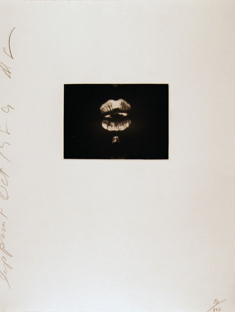 , 'Lip Print #1, ,' 1989, Zane Bennett Contemporary Art